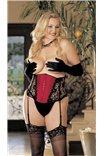 Пояс-корсет большого размера + съемные/регулируемые подтяжки от Shirley of Hollywood