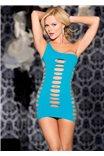 Яркое платье через одно плечо от Shirley of Hollywood