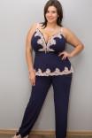 Роскошная пижама 741/720 с эксклюзивным размерным рядом