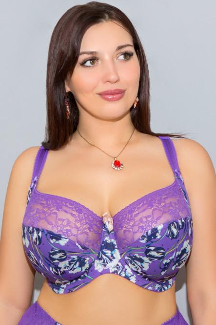 Бюстгальтер в мягкой чашке Chi Chi в фиолетовом цвете от Panache