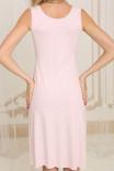 Ночная сорочка HC-M-39 в нежном розовом цвете от Violet delux