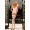 Очаровательный сексуальный комплект боди+чулки+стринги 96737 от Shirley of Hollywood