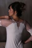 Утонченная сорочка цвета шампань 10701С от Effetto