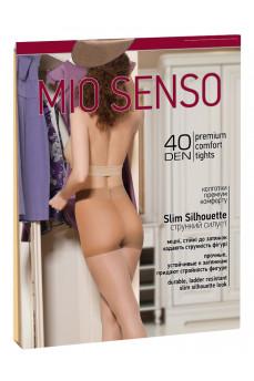 Колготки с плотными шортиками мягкой утяжки Slim Silhouette 40den от Mio Senso