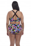 Цветочный купальный топ для роскошной груди Electroflower от Elomi