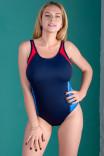Спортивный синий купальник Freestyle для шикарных женщин от Freya