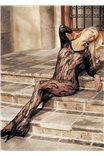 Эротический комбинезон с длинными рукавами от Shirley of Hollywood