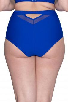 Высокие ретро-плавки цвета синий электрик CS001505 от Curvy Kate