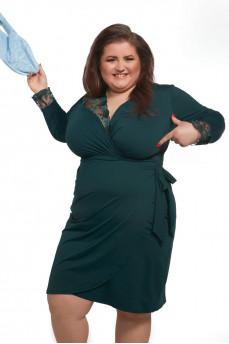 Домашнее платье с запахом на большую грудь Sheherazade от KrisLine