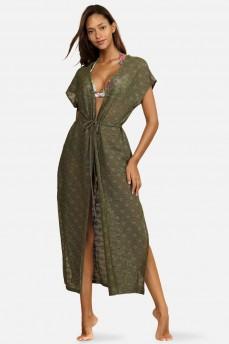 Платье цвета хаки от Feba F120A-787