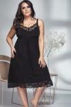 Сорочка для дома и сна на большую грудь Shato 1341 Black