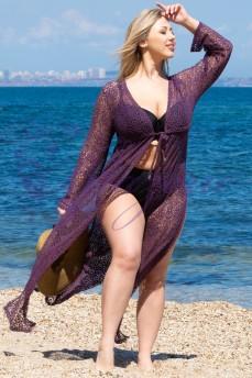 Пляжная туника Shato ST 247 Violet
