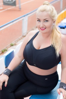 Бюстгальтер для спорта на кости Krisline Active Black