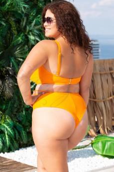 Плавки бразильянки высокие Krisline Malibu Orange