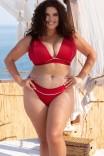 Купальный топ Poolside by Curvy Kate Pink Red