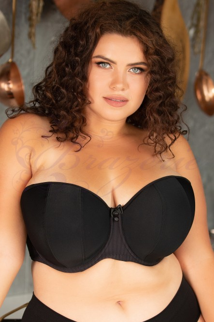 Бюстгальтер без бретелей Curvy Kate Luxe CK2601 Black