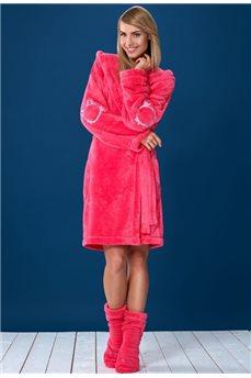 Мягкий тёплый халат Duffy от L&L