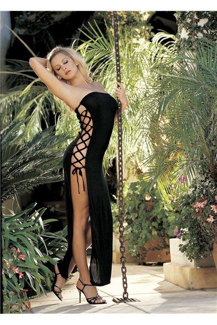 Сексуальное облегающее платье со шнуровкой по бокам от Shirley of Hollywood