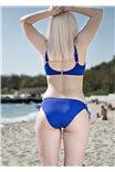 Синий лиф для пляжа Hebe от Corin