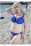 Сексуальные плавки на завязках синие Hebe Corin