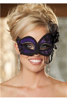 Кружевная и атласная маска от Shirley of Hollywood