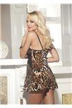 Сексуальная сорочка в леопардовом принте от Shirley of Hollywood