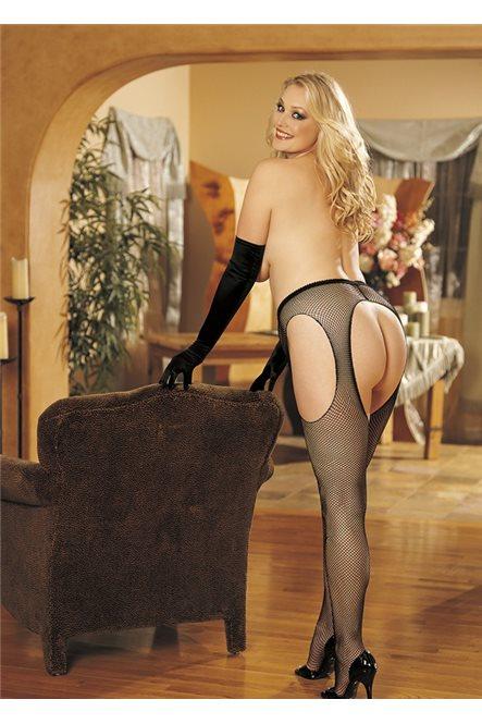 Эротические колготы с открытой попой большого размера от Shirley of Hollywood