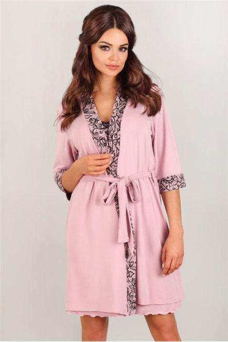 Нежный халат для мамочек от Lupoline