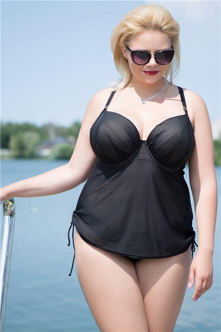 Очаровательное танкини Onyx от Curvy Kate