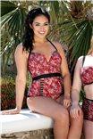 Стильный цельный купальник со вставками Maya от Curvy Kate