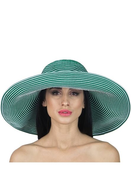 Пляжная шляпа с широкими полями от Delmare