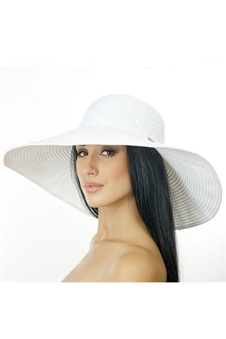 Широкополая пляжная шляпа от Delmare