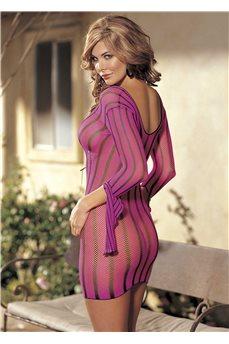 Розовое сетчатое платье от Shirley of Hollywood
