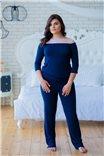 Элегантная пижама с кружевным воротничком 0259 от Effetto