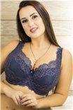 Роскошный бюстгальтер на шикарную грудь большого размера  624/1 Adele от Kinga