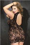 Кружевное эротичное платье большого размера X90393 от Shirley of Hollywood