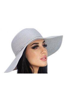 Летняя шляпа со стразами  от Delmare