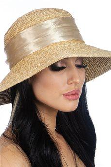 Соломенная летняя шляпа  от Delmare
