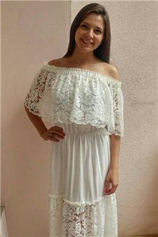 Шикарное пляжное платье 3196 от Nautic