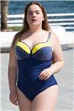 Цельный купальник для шикарных женщин F32A  от Feba