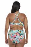 Потрясающий купальный бандо-топ Aloha на большую грудь от Elomi